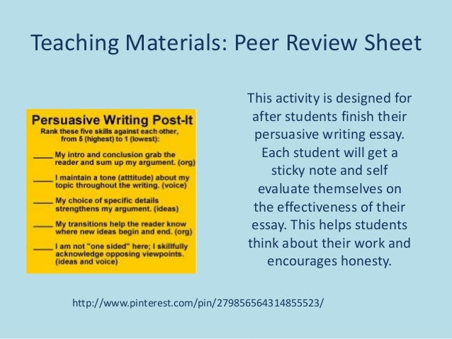 peer editing checklist expository essay Staar eoc expository essay (preplanning, outlining, writing, and editing) a staar eoc style expository essay introduce the thesis checklist.
