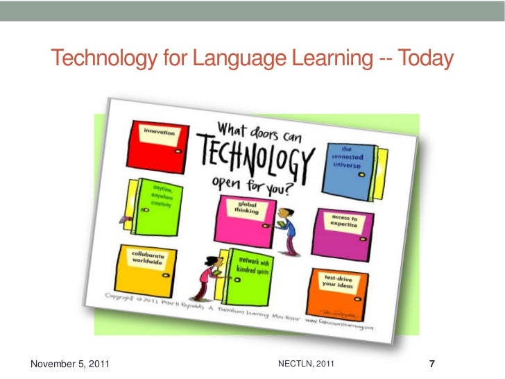 Technology for Language Learning -- TodayNovember 5, 2011           NECTLN, 2011   7