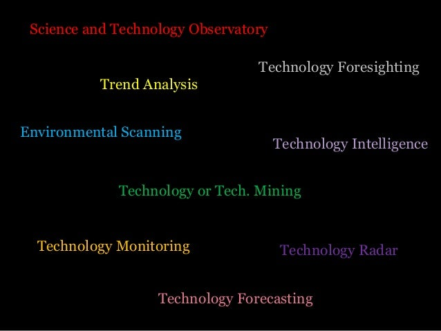 Technology Observatory Examples, Tools and Techniques