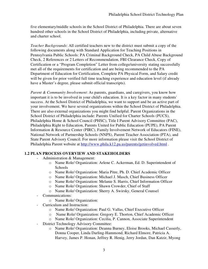 philadelphia charter school standard application