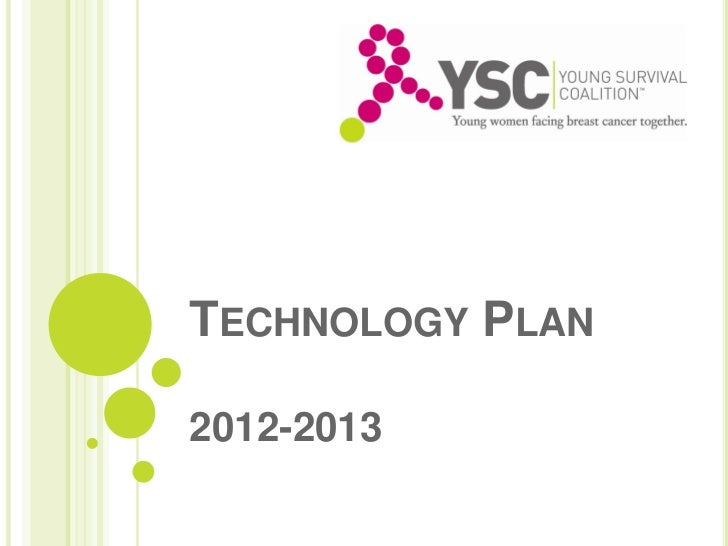 TECHNOLOGY PLAN2012-2013