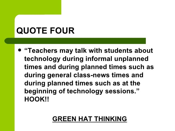 Technology powerpoint presentations quote toneelgroepblik Images