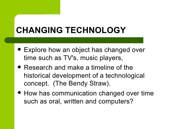 how did technology change our lives