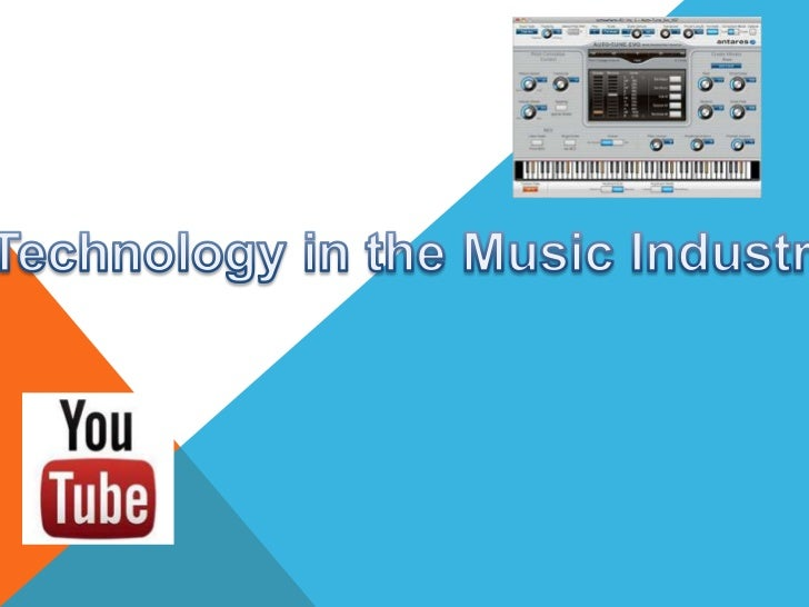 A wide range of technologies have been used to enhance the effect ofthe way music is experienced in the music industry. So...
