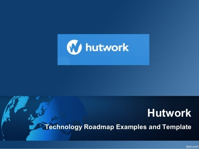 technology roadmap examples and template www hutwork com