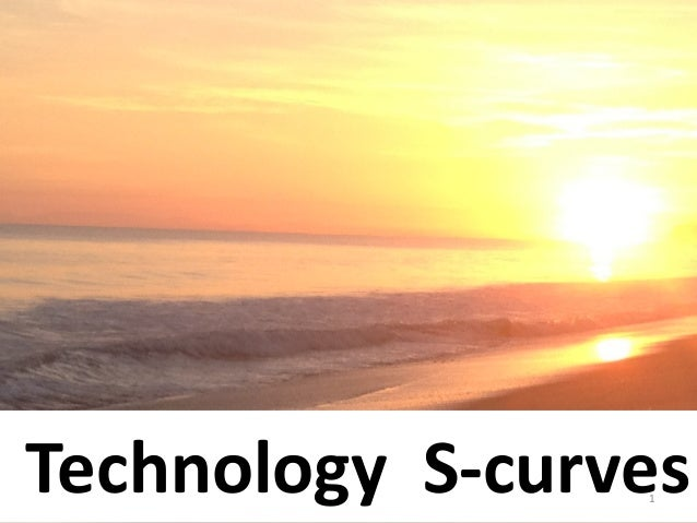 Technology S-curves                 1
