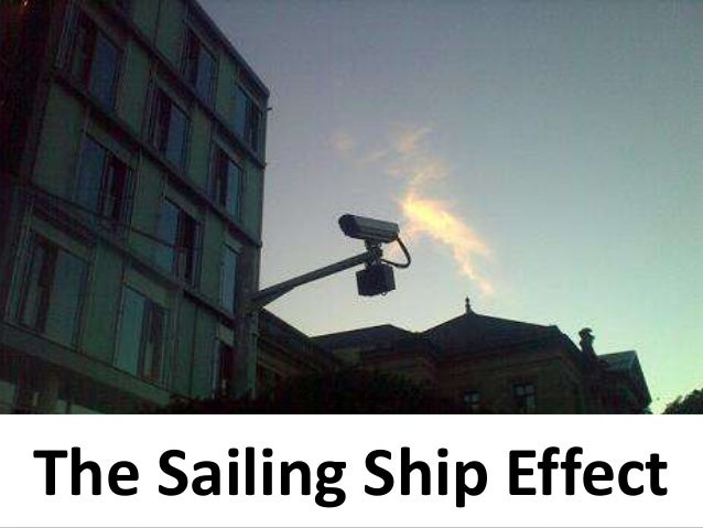 The Sailing Ship Effect