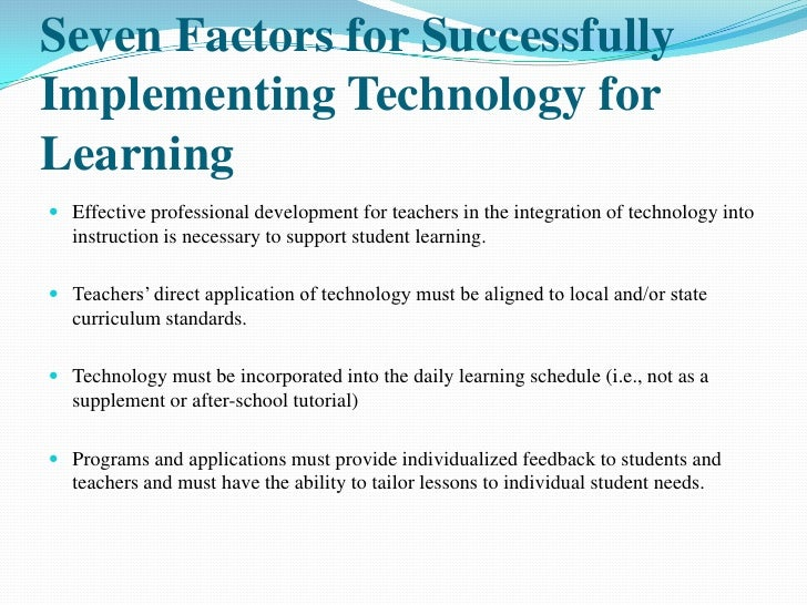 teacher's professional development factors influencing students' Teacher factors influencing classroom use of ict in  professional development to bring schooling within developing  encourage both students and teachers to play .
