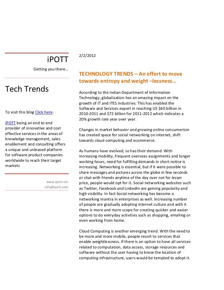 2/2/2012                          iPOTT                 Getting you there…                                         TECHNOL...