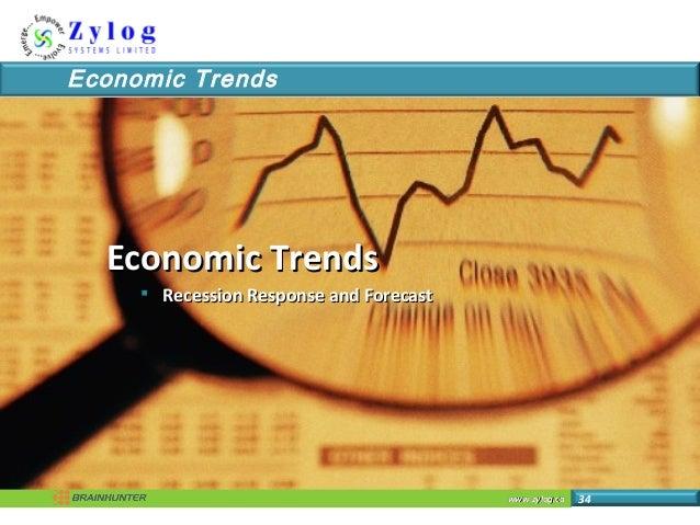 www.zylog.cawww.zylog.ca 34 Economic Trends Economic TrendsEconomic Trends  Recession Response and ForecastRecession Resp...