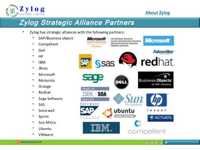 www.zylog.cawww.zylog.ca 8 Zylog Strategic Alliance Partners  Zylog has strategic alliances with the following partners: ...