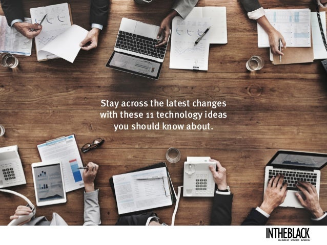How technology changes business