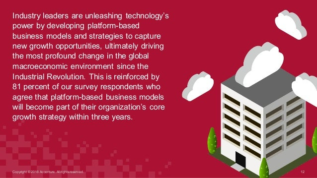 Industry leaders are unleashing technology's  power by developing platform-based  business models and strateg...