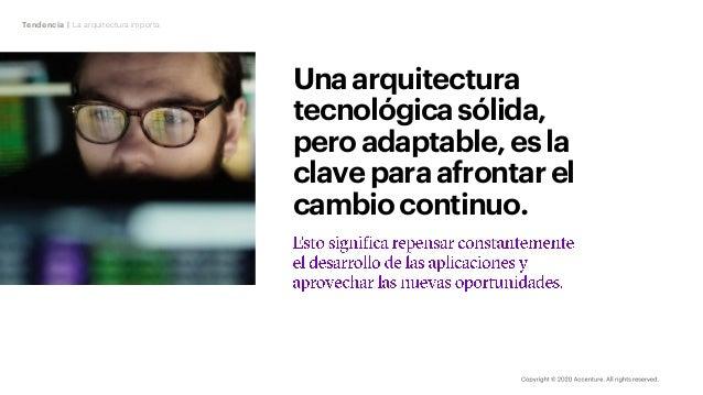 Unaarquitectura tecnológicasólida, peroadaptable,esla claveparaafrontarel cambiocontinuo. Tendencia | La arquitectura impo...