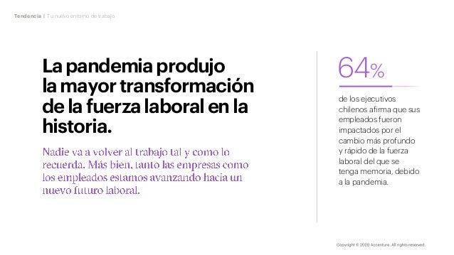Lapandemiaprodujo lamayortransformación delafuerzalaboralen la historia. Tendencia | Tu nuevo entorno de trabajo 64% de lo...
