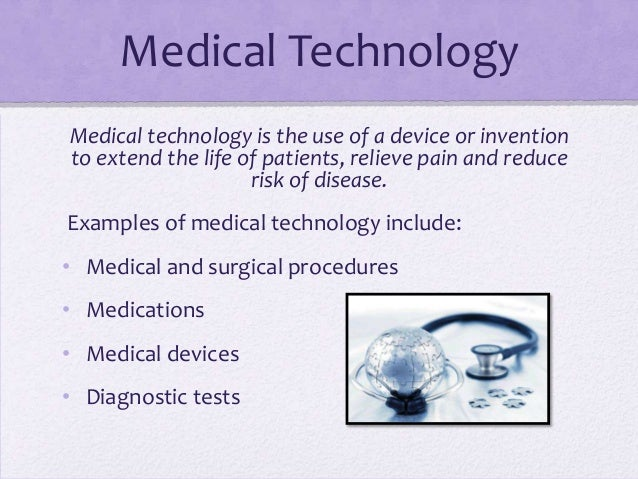 examples of medical technology