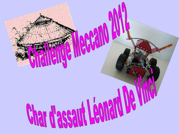 Voilà la liste despièces Meccano du concours de 2012