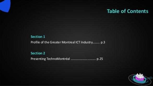 Techno montreìal   ict profile 2013- english Slide 2