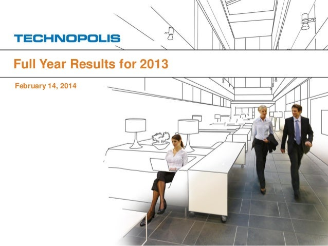 Full Year Results for 2013 February 14, 2014