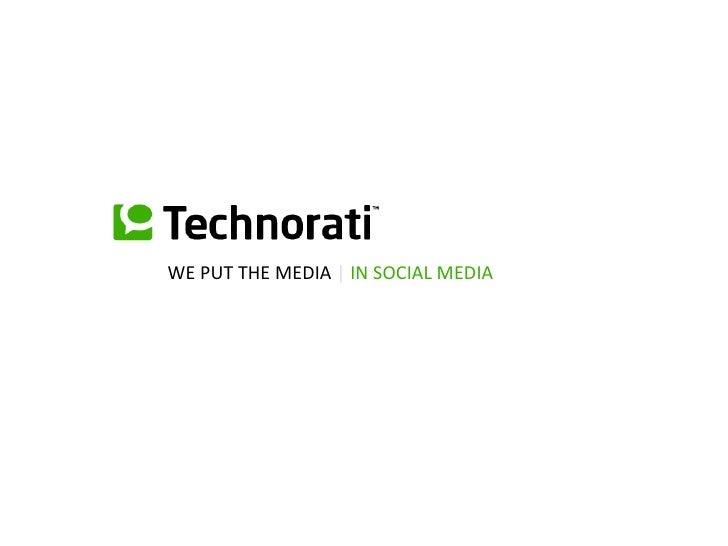 WE PUT THE MEDIA  |  IN SOCIAL MEDIA