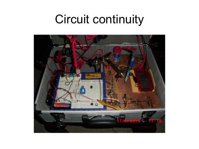 Circuit continuity