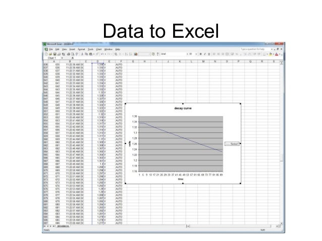 Data to Excel