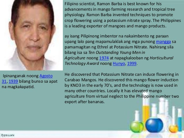 Top 150 Filipino Scientists