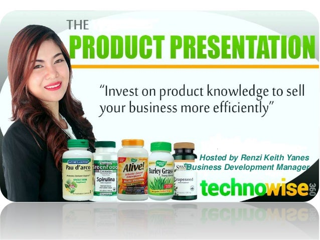 Hosted by Renzi Keith Yanes Business Development Manager