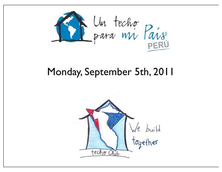 Monday, September 5th, 2011