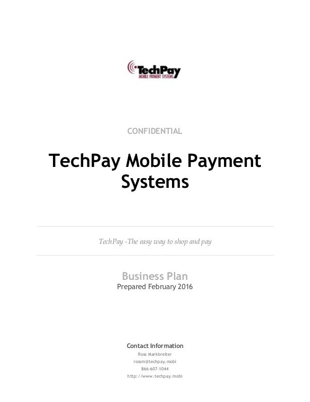 Pay for business plan