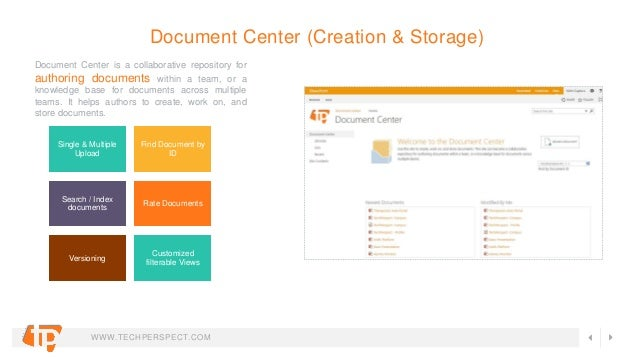 Sharepoint Document Management System Dms Features