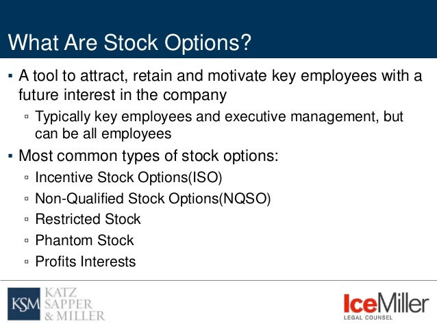 Difference between non qualified stock options and iso