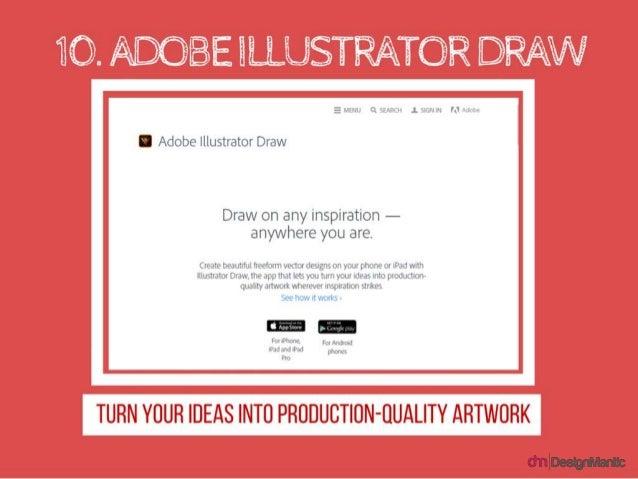 What are your favorite design apps? https://plus.google.com/+Designmantic https://twitter.com/designmantic https://www.fac...