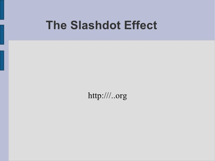 slashdot effect