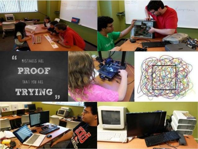 Offer more game development and computer programming/robotic workshops