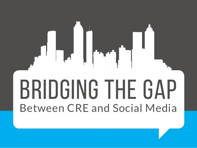 social media gap Bridging the social media marketing generation gap requires a meeting of the minds and mutual respect for knowing your demographic versus knowing your job social media best practices is often the.