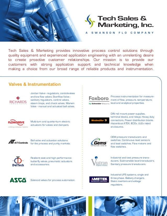 Valves & Instrumentation Tech Sales & Marketing provides innovative process control solutions through quality equipment an...