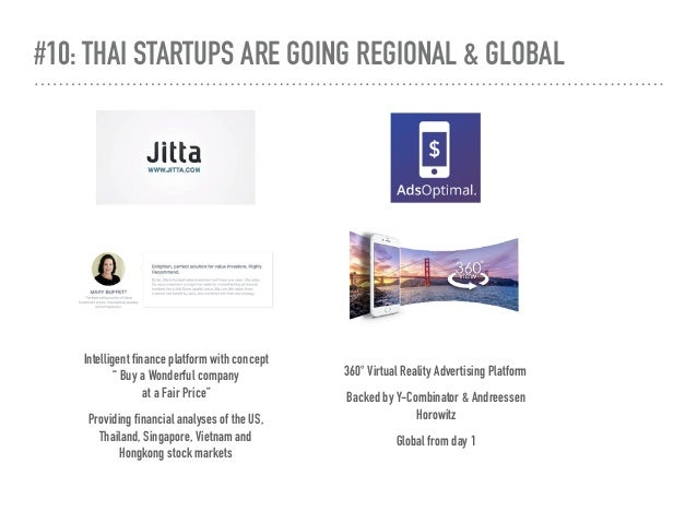#10: THAI STARTUPS ARE GOING REGIONAL & GLOBAL 360° Virtual Reality Advertising Platform Backed by Y-Combinator & Andreess...