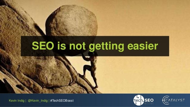 Kevin Indig | @Kevin_Indig | #TechSEOBoost SEO is not getting easier