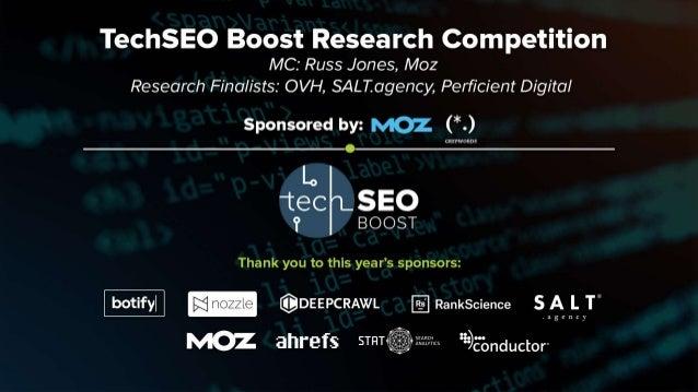 Moz & Russ Jones | @moz @rjonesx | #TechSEOBoost TechSEO Boost Research Finalists Do Links Still Matter for SEO in 2017? U...