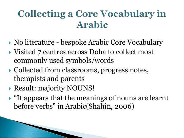 Arabic Symbol Dictionary Techshareme Presentation