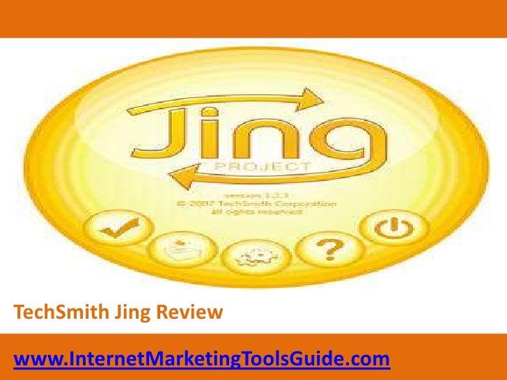 TechSmith Jing Review<br />www.InternetMarketingToolsGuide.com<br />