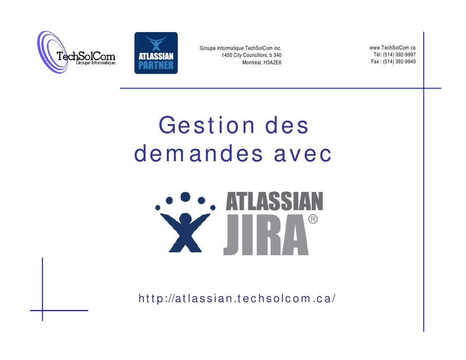 Groupe Informatique TechSolCom inc.     www.TechSolCom.ca                   1450 City Councillors, b 340    Tél: (514) 392...