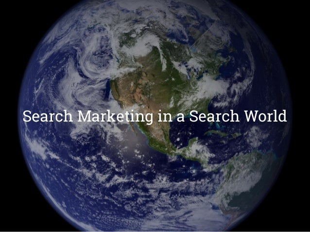 Search Marketing - SEO Search Engine Optimization - Organic How It Works ● Crawls internet to review text on your website,...