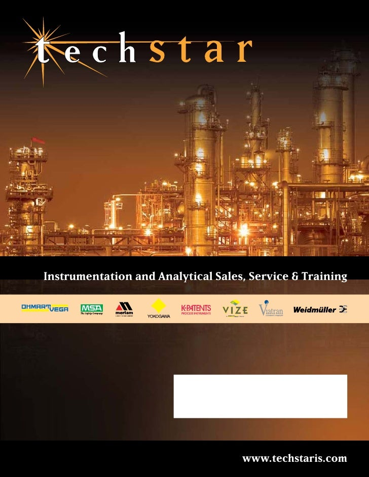 Instrumentation and Analytical Sales, Service & Training                                         www.techstaris.com