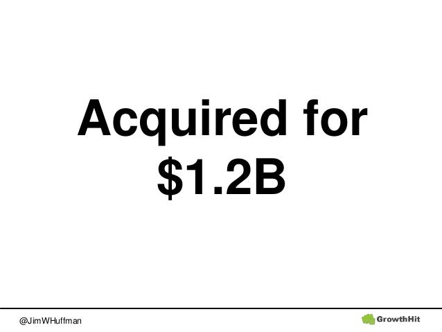 @JimWHuffman Acquired for $1.2B