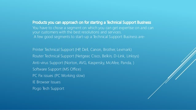 How to Start own Tech support Business in India