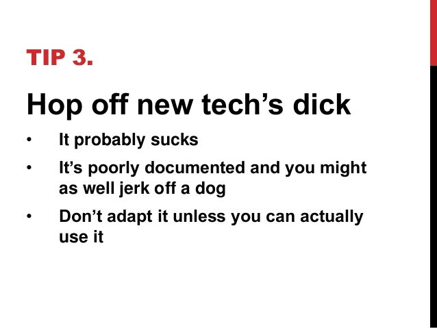 how to suck dick tips