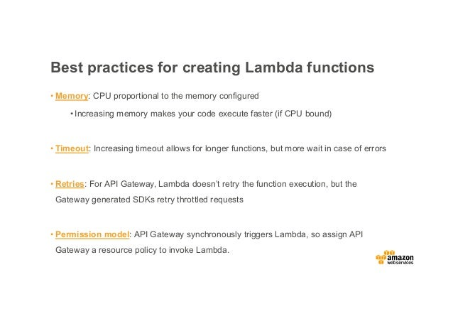 Stephen Liedig: Building Serverless Backends with AWS Lambda