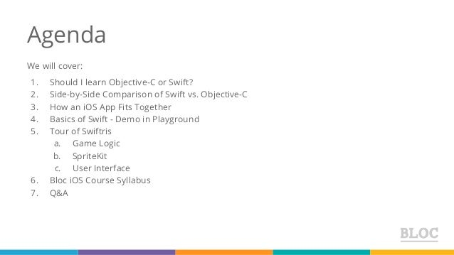 TechTalk: Swiftris - Building Your First iOS App With Swift